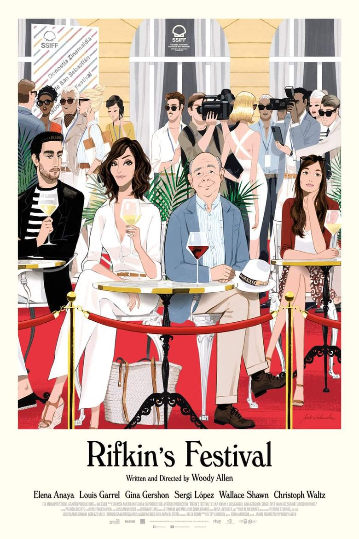 Rifkin's Festival Poster