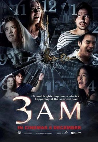 3 A.M. Poster