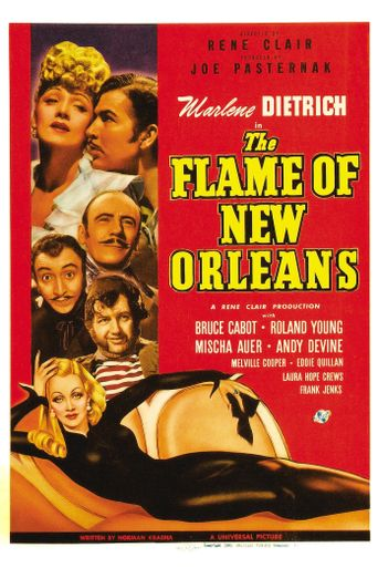 The Flame of New Orleans Poster