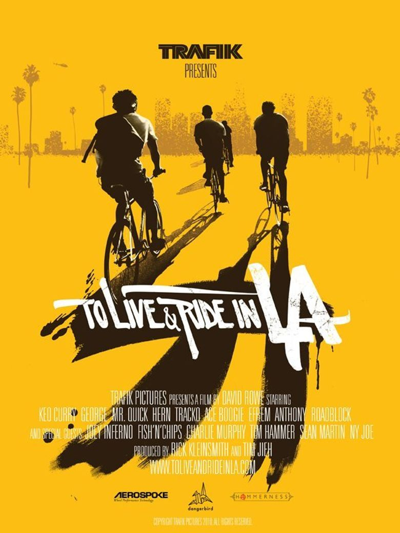 To Live & Ride in L.A. Poster