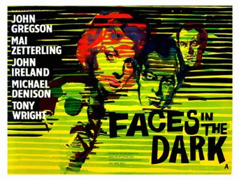 Faces in the Dark Poster