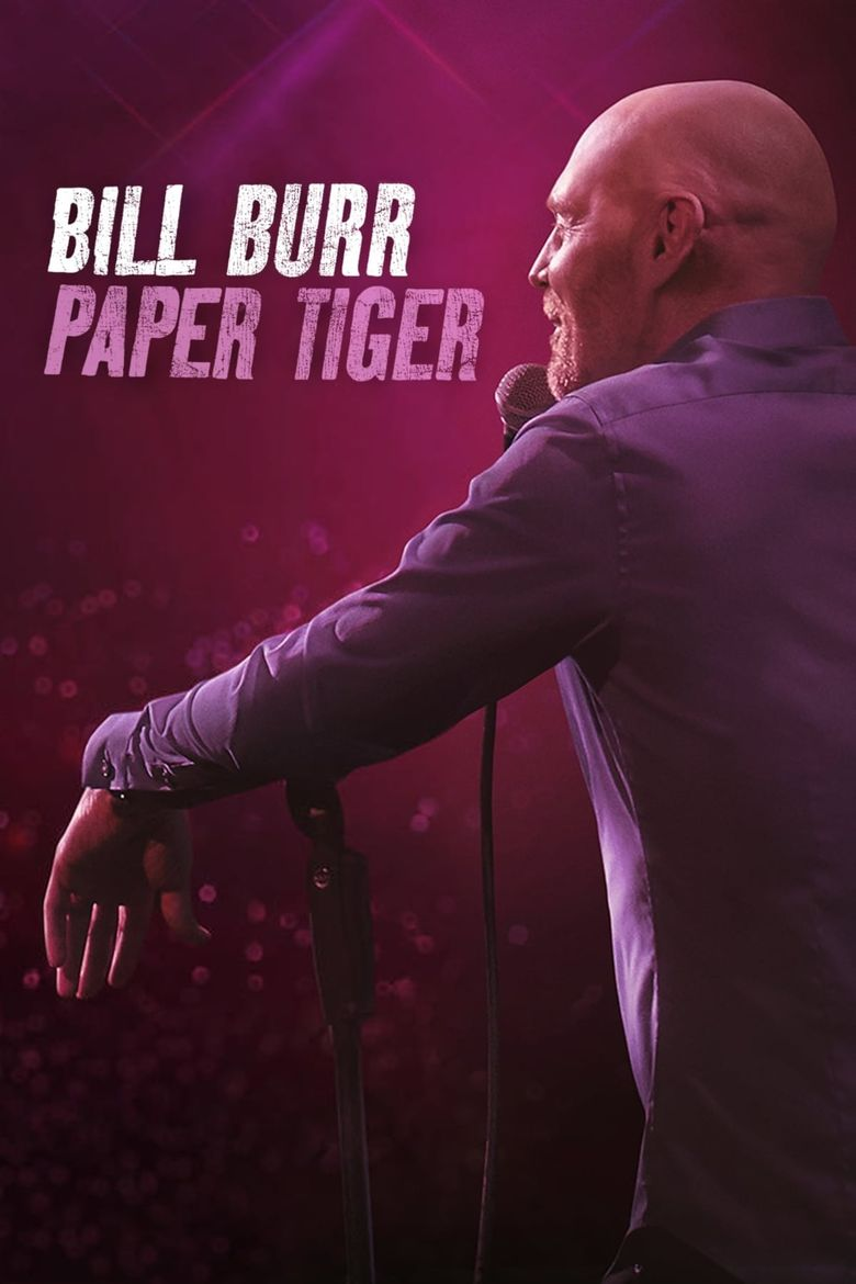 Bill Burr: Paper Tiger Poster