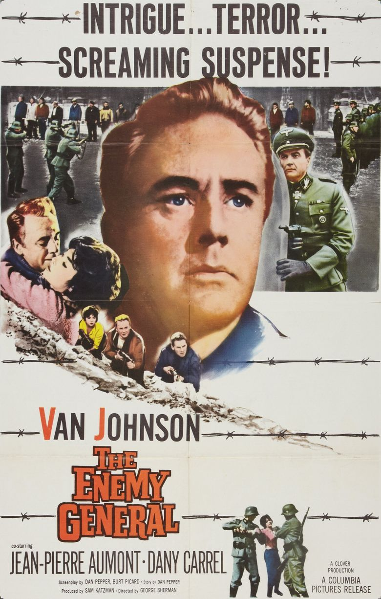 The Enemy General Poster