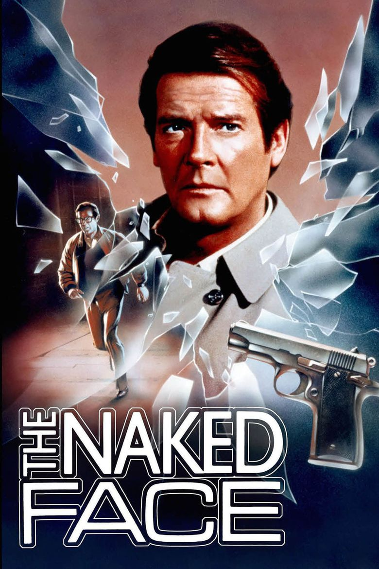The Naked Face Poster