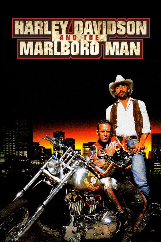 Harley Davidson and the Marlboro Man Poster
