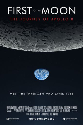 First to the Moon Poster