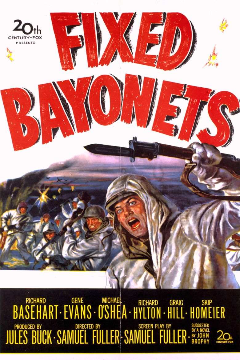 Fixed Bayonets! Poster