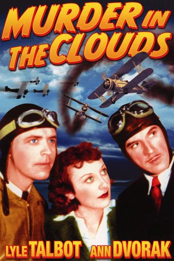 Murder in the Clouds Poster