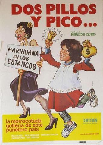 Dos pillos y pico Poster