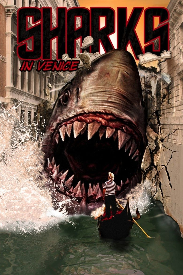 Sharks in Venice Poster