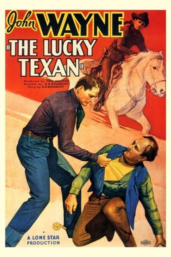The Lucky Texan Poster