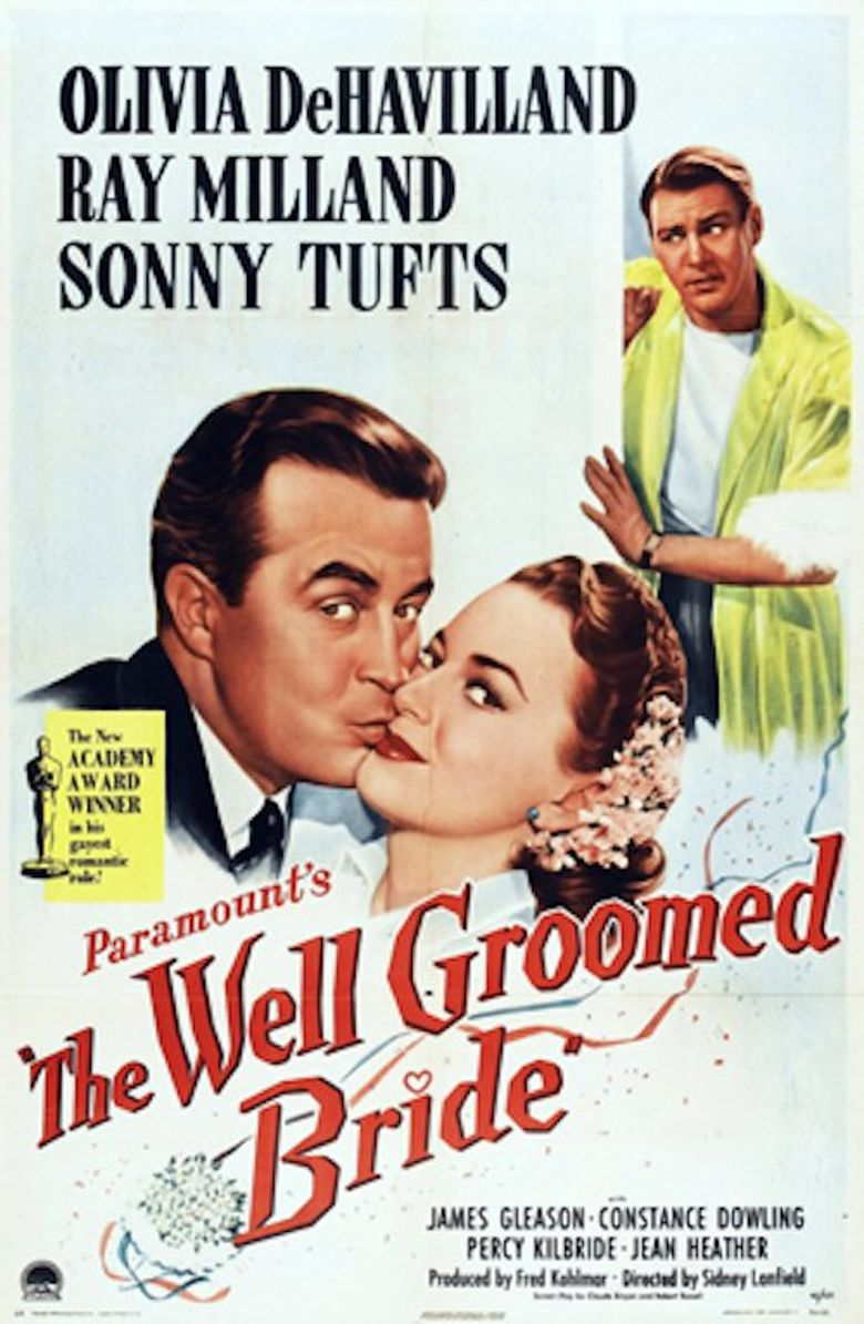 The Well-Groomed Bride Poster