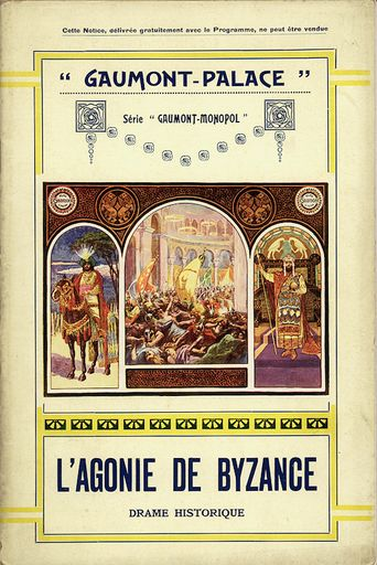 The Agony of Byzance Poster
