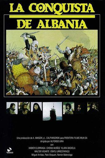 La conquista de Albania Poster