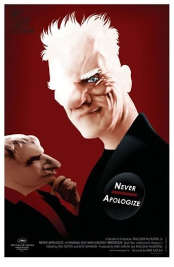 Never Apologize Poster