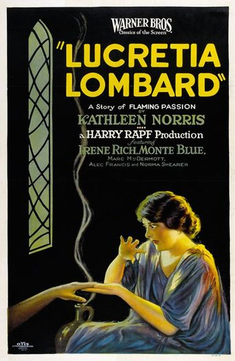 Lucretia Lombard Poster