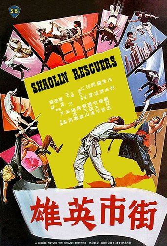 Shaolin Rescuers Poster