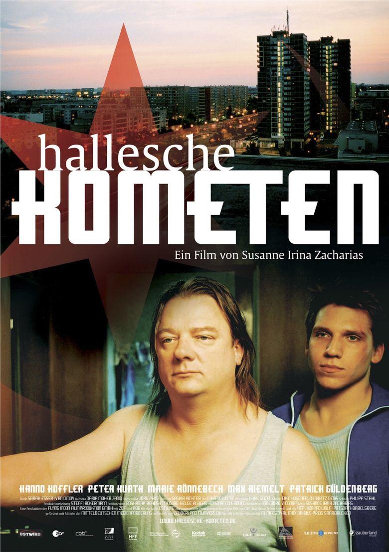 Hallesche Kometen Poster