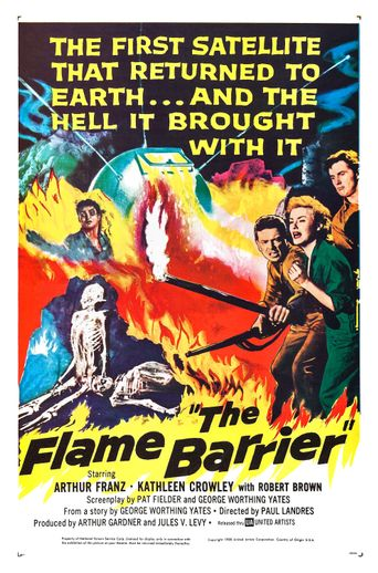 The Flame Barrier Poster