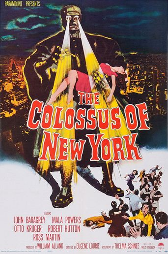 The Colossus of New York Poster