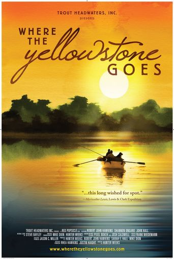 Where the Yellowstone Goes Poster