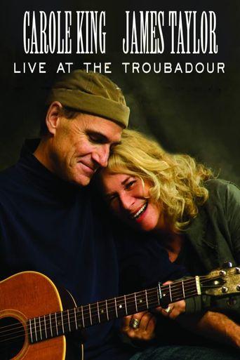Carole King & James Taylor - Live at the Troubadour 2007 Poster