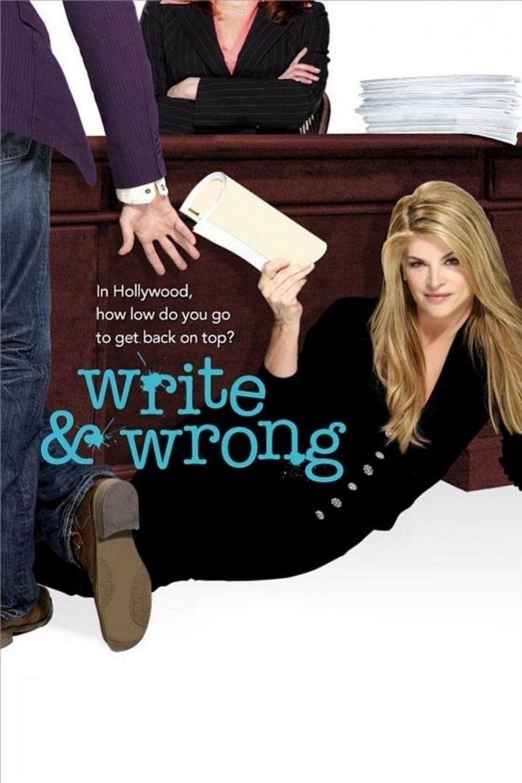 Write & Wrong Poster