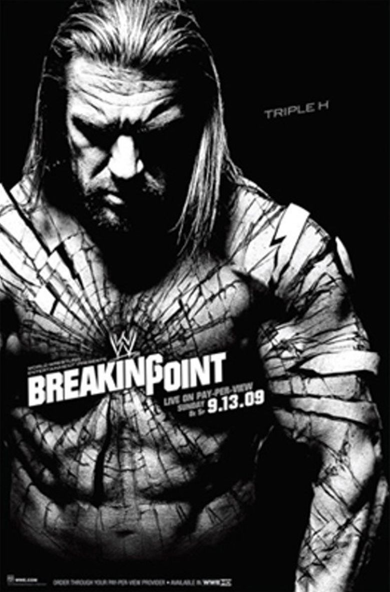 WWE Breaking Point 2009 Poster
