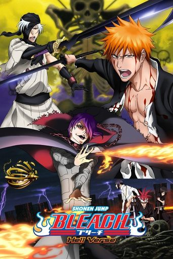 Bleach the Movie: Hell Verse Poster