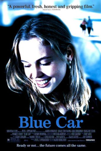 Blue Car Poster