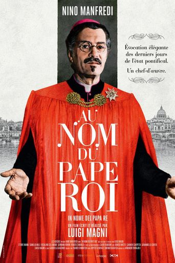 In nome del papa re Poster