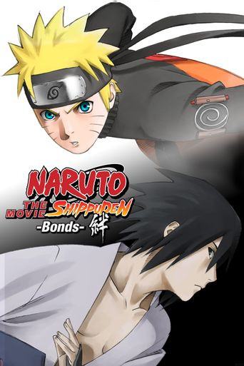 Naruto Shippuden the Movie Bonds Poster