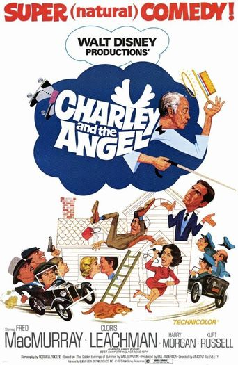 Charley and the Angel Poster