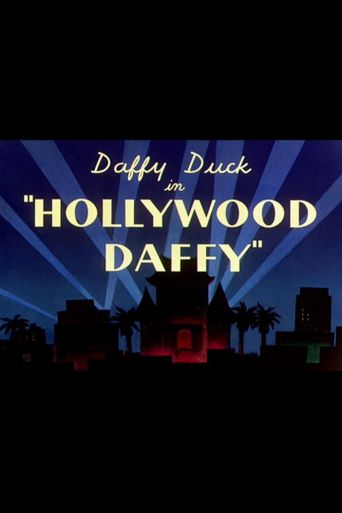 Hollywood Daffy Poster