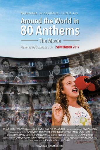 Around the World in 80 Anthems Poster