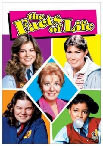 The Facts of Life Goes to Paris Poster