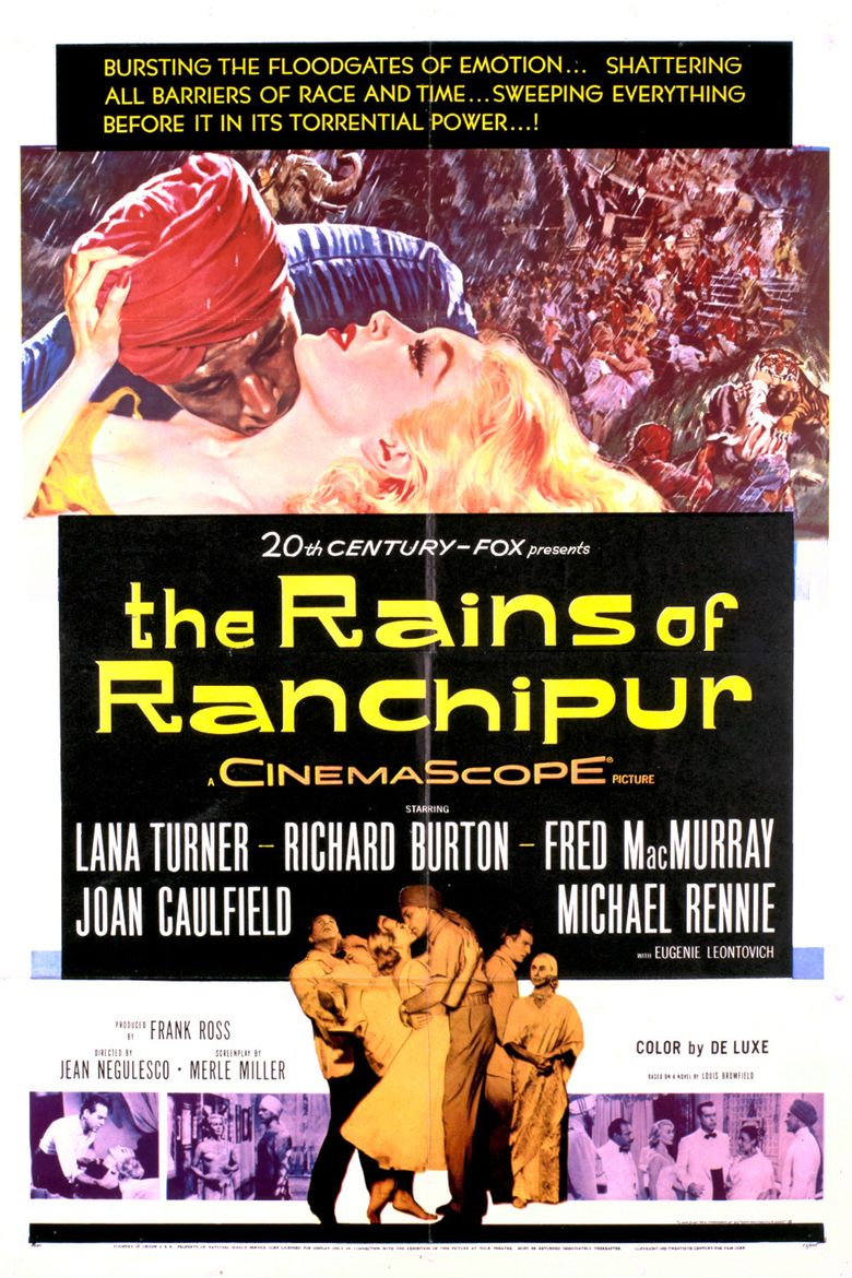The Rains of Ranchipur Poster