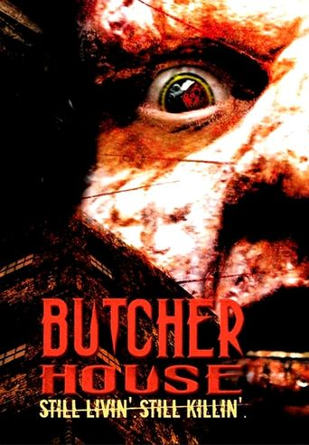 Butcher House Poster