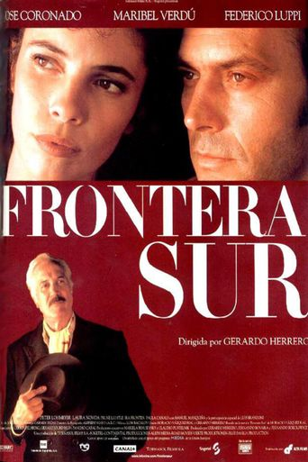 Frontera sur Poster