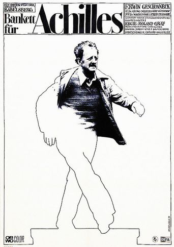 Bankett für Achilles Poster