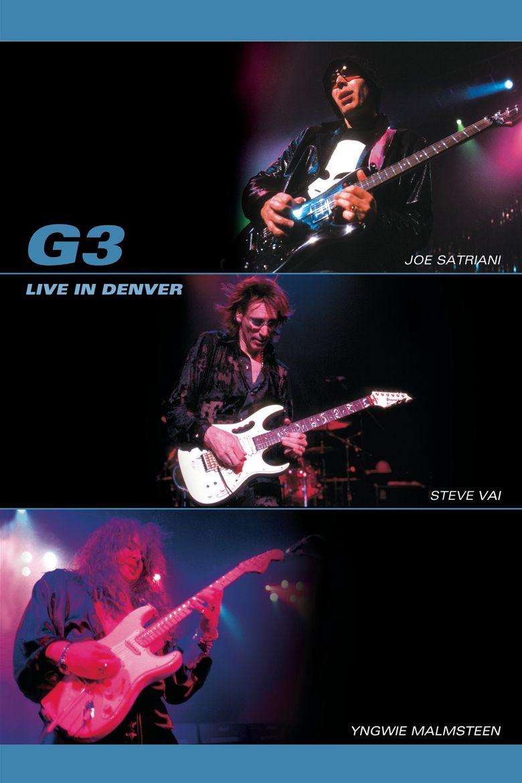 G3: Live in Denver Poster