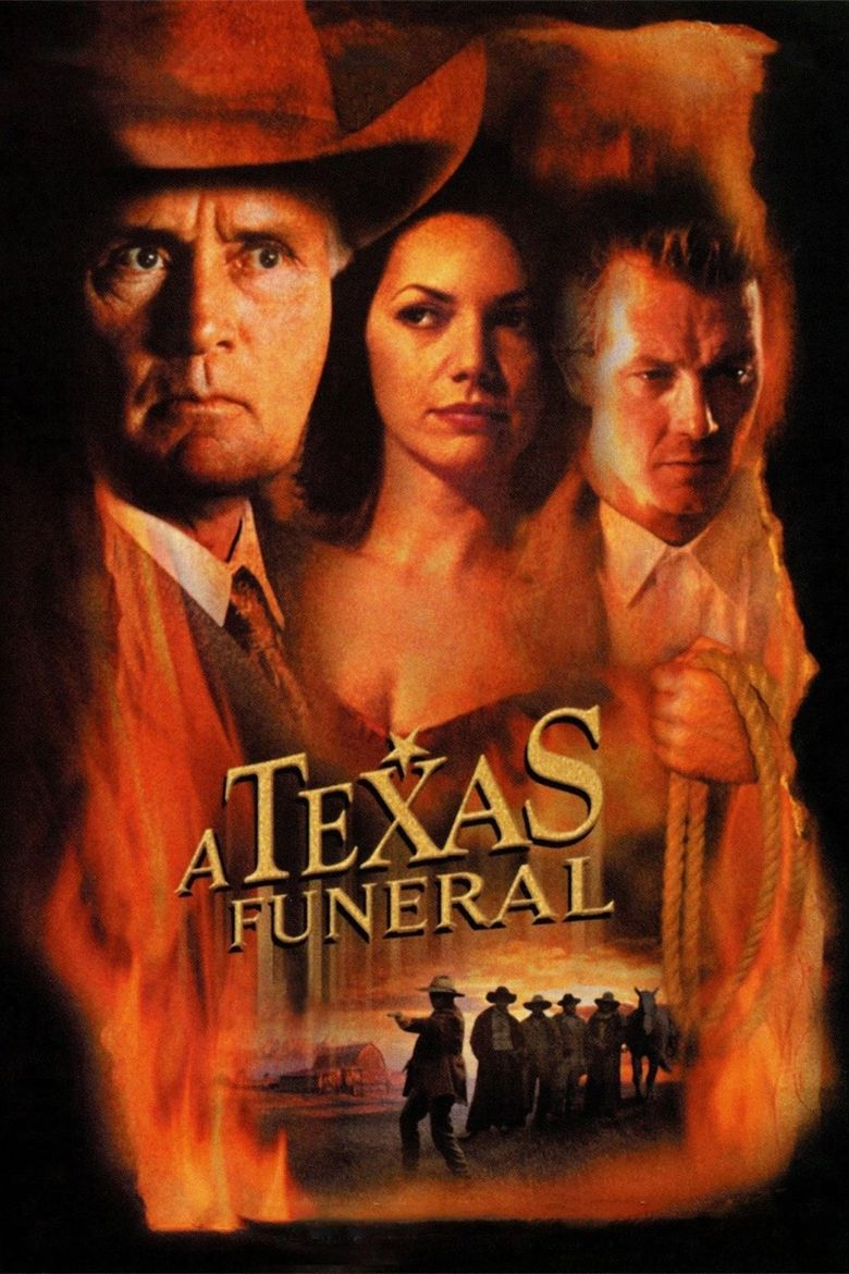A Texas Funeral Poster