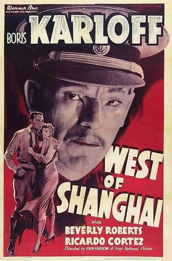 West Of Shanghai Poster