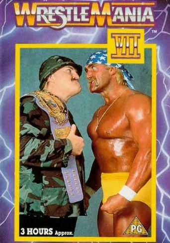 WWE WrestleMania VII Poster
