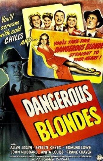 Dangerous Blondes Poster