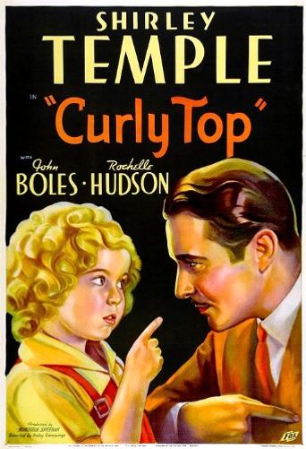 Curly Top Poster