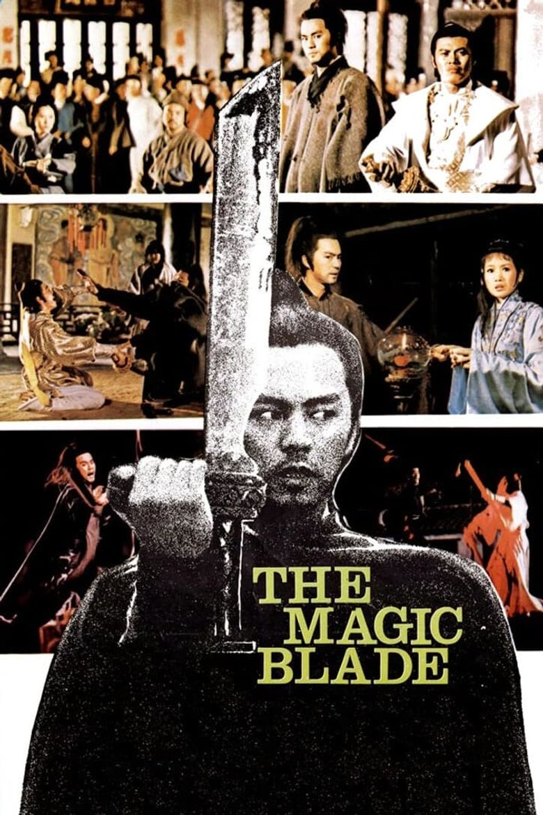 The Magic Blade Poster