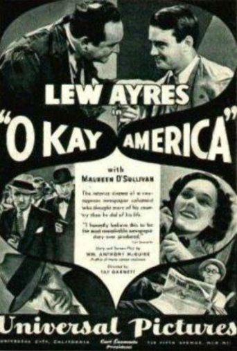Okay, America! Poster