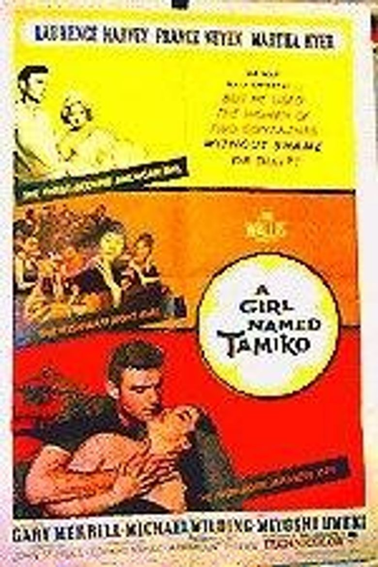 A Girl Named Tamiko Poster