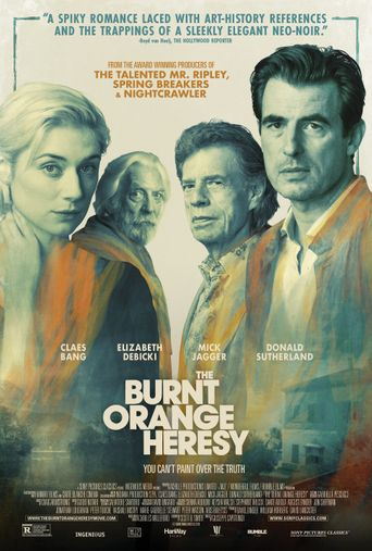 The Burnt Orange Heresy Poster